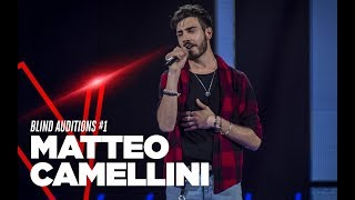 "Matteo Camellini ""There's Nothing Holdin' Me Back"" - Blind Auditions - TVOI 2019"