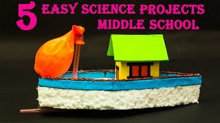 5 Easy Science Projects Ideas   Middle School