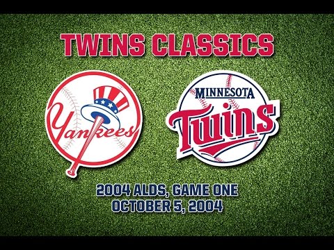 2004 ALDS, Game 1: Twins @ Yankees