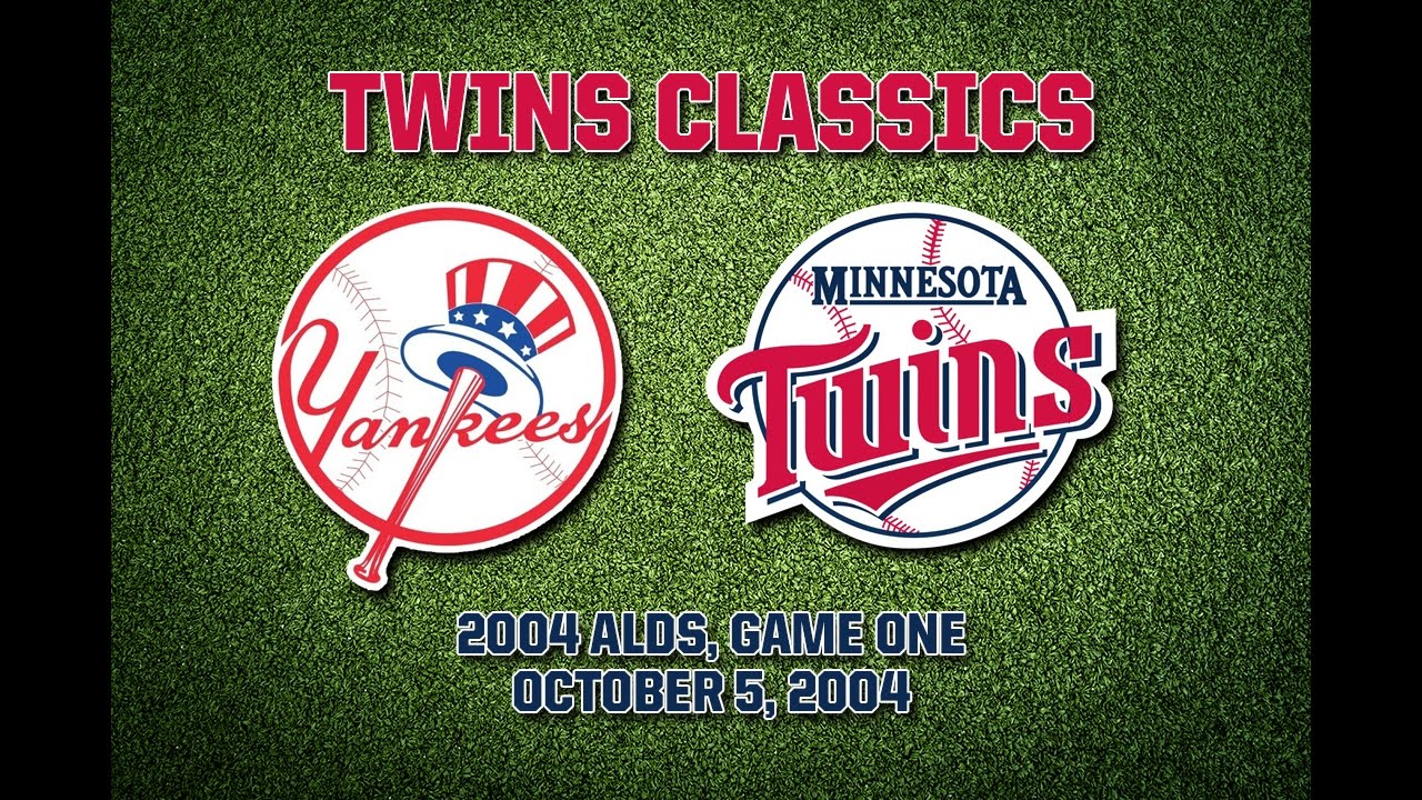 2004 Alds Game 1 Twins Yankees