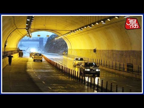 Nashri Tunnel Reduces Distance Between Jammu And Srinagar By 2 Hours