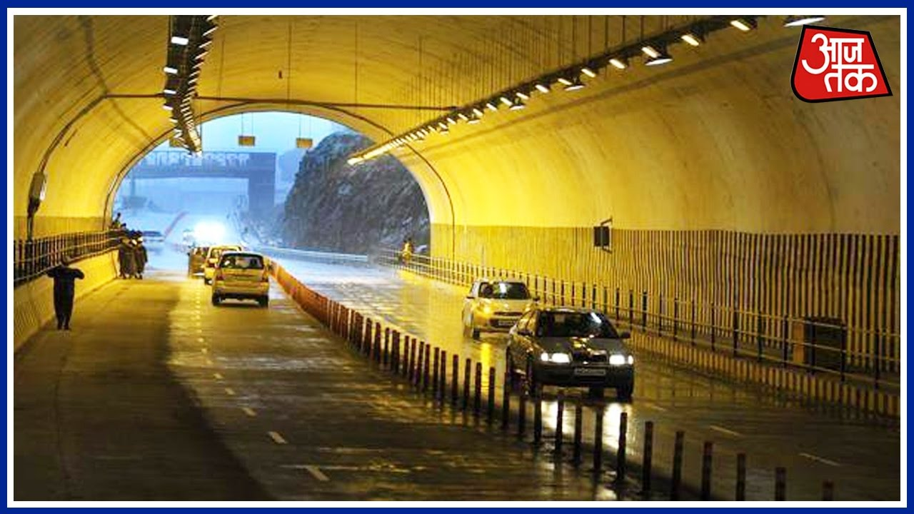 Nashri Tunnel Reduces Distance Between Jammu And Srinagar By 2 Hours