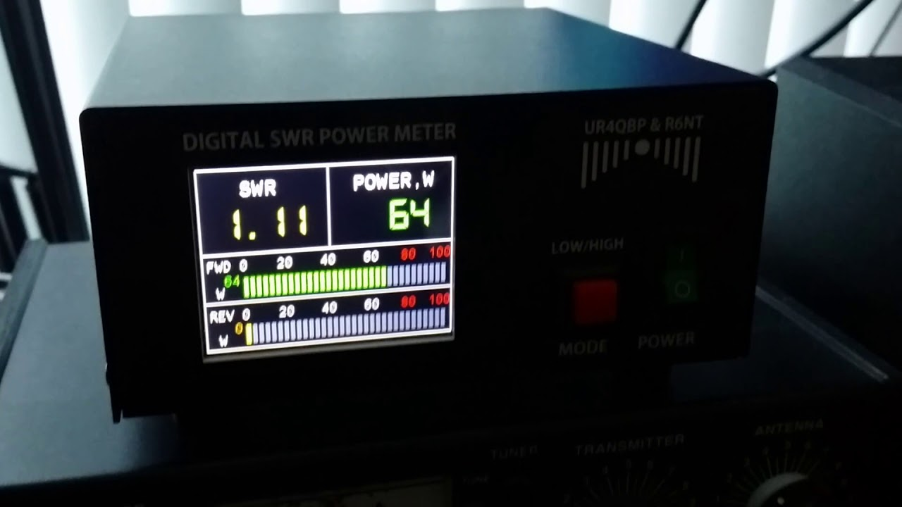DIGITAL POWER SWR METER