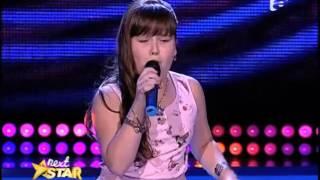 "Celine Dion - ""I surrender"". Interpretarea Denisei Bârzu, la Next Star!"
