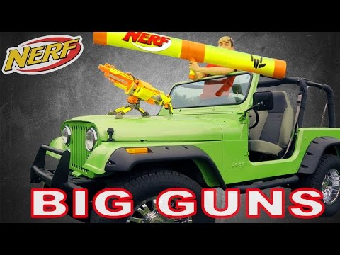 Thumbnail: Ultimate NERF Car (Jeep Build)