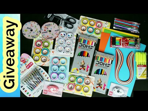 Craft Giveaway | Stationery Giveaway | Win Free Gifts :)