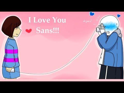Frisk Loves You Sans【 Undertale Animation - Undertale Comic Dubs 】