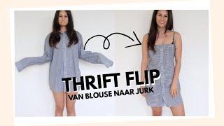 DIY JURKJE - THRIFT FLIP! ✂️