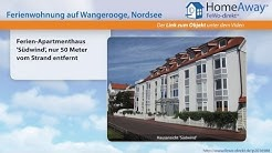 Wangerooge: Ferien-Apartmenthaus 'Südwind', nur 50 Meter vom Strand - FeWo-direkt.de Video