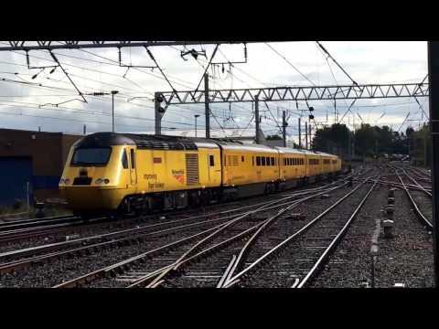 Network Rail NMT class 43 HST departing Carlisle station