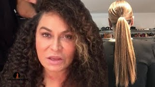 "Ms Tina Shows Off Beyonce's Long ""Natural"" Hair, Haters Will Say It's Weave"