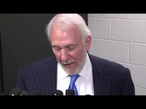 Coach Pop Speaks Following Kobe Bryant's Death: 'we All Feel A Deep Sense Of Loss'