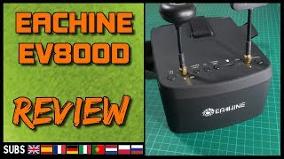 EACHINE EV800D - FPV Google Review