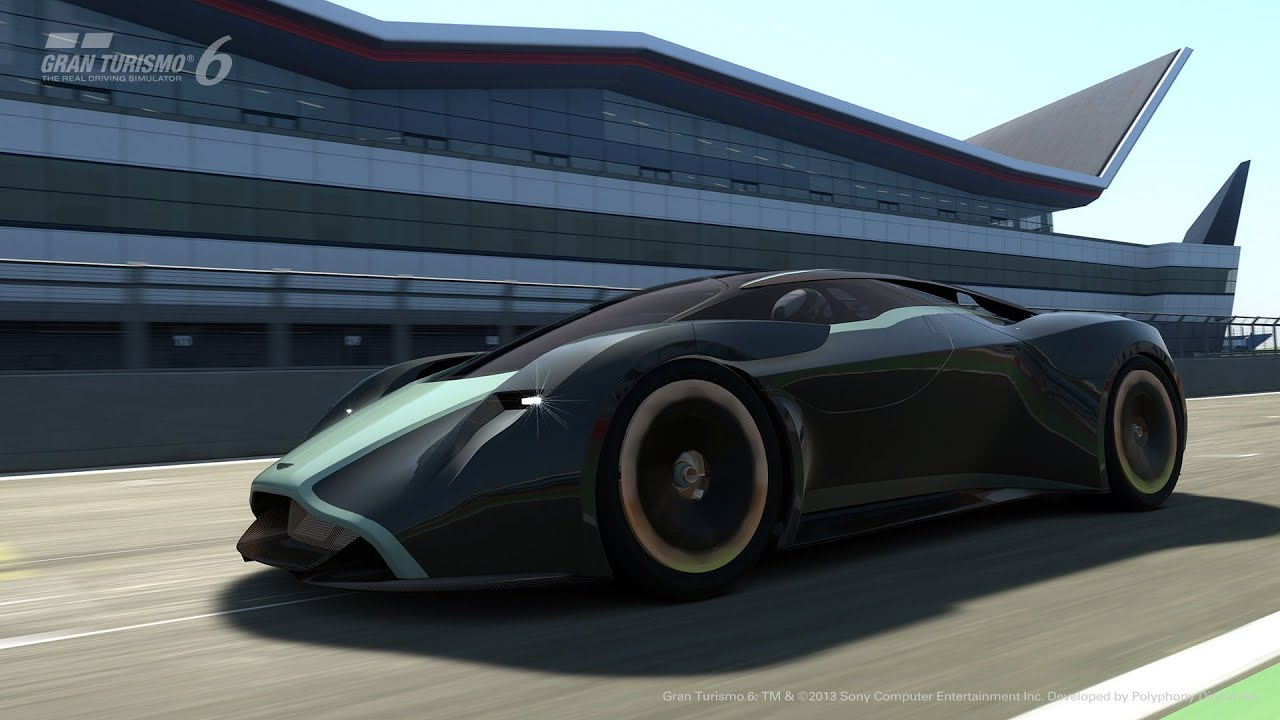 Aston Martin Dp 100 Vision Gran Turismo Launch Youtube