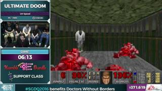 Ultimate Doom by Dime in 0:28:18 - SGDQ2016 - Part 98