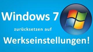 TTT - Windows 7 ohne CD auf Werkseinstellung zurücksetzen
