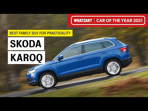 Skoda Karoq: why it's our 2021 Best Family SUV for Practicality | What Car? | Sponsored