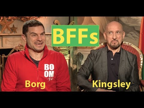 Ben Kingsley Teaches Flula About Life (Full Interview)
