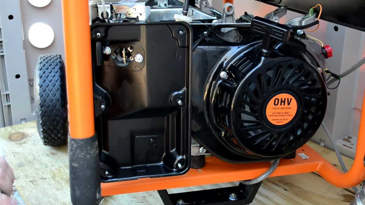 Generator Schematic Diagram Generac Carb Removal And Disassembly Youtube