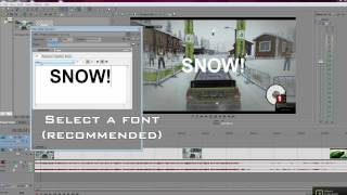 How you can add text to your video, for this basic Vegas Pro tutorial I'll be showing you how to add.