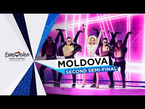 Natalia Gordienko - SUGAR - LIVE - Moldova ?? - Second Semi-Final - Eurovision 2021