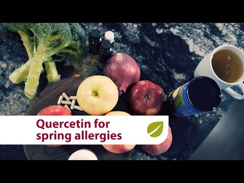 Quercetin   Natural Relief for Spring Seasonal Allergies