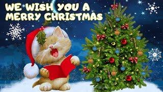 We Wish You A Merry Christmas. Новогодние Песни для Детей. Детские Песенки