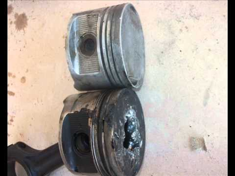 Damage the piston m102 engine _w124 1989 200E