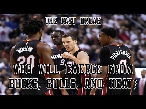 2017 NBA Playoffs: Who Will Emerge From Bucks, Bulls, And Heat?