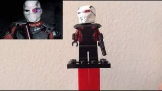 Custom Lego DCEU Suicide Squad minifigures showcase (first video!)