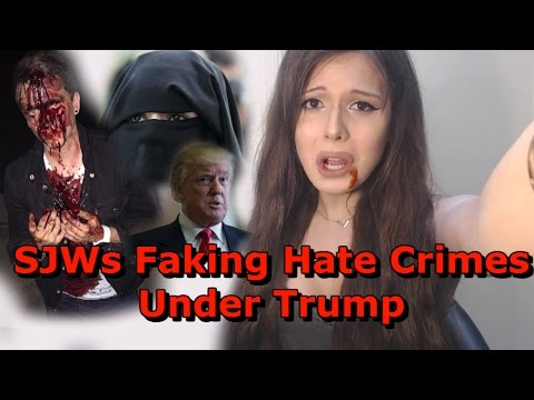 Thumbnail: SJWs Faking Hate Crimes Under Trump
