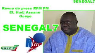 Revue de presse Rfm (wolof) du Mercredi 18 Septembre 2019 par El Hadji Assane Gueye