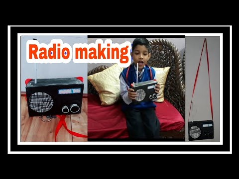 Radio making //How to make Radio// paper activity craft // best out of waste