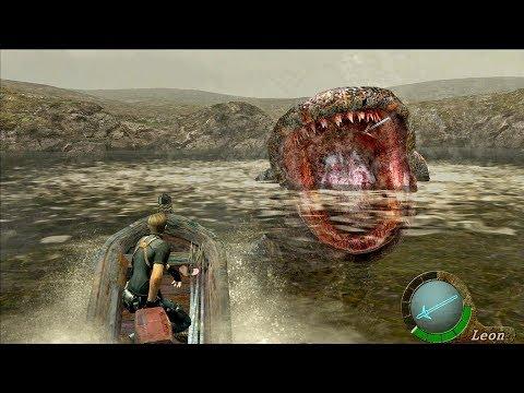 Resident Evil 4 Lake Monster Del Lago Boss Fight Guide Re4