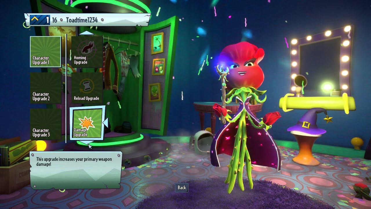 Plants Vs Zombies Garden Warfare 2 All Character Upgrades