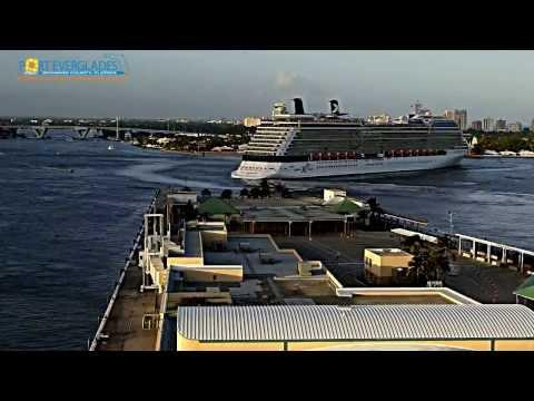 Port Everglades cruise ship departure parade