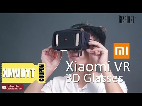 Xiaomi VR Virtual Reality 3D Glasses Unboxing【Coupon: LHXMVR】- Gearbest.com