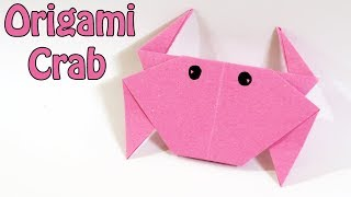 How to make Origami Crab | Easy Origami Crab Tutorial (2018)