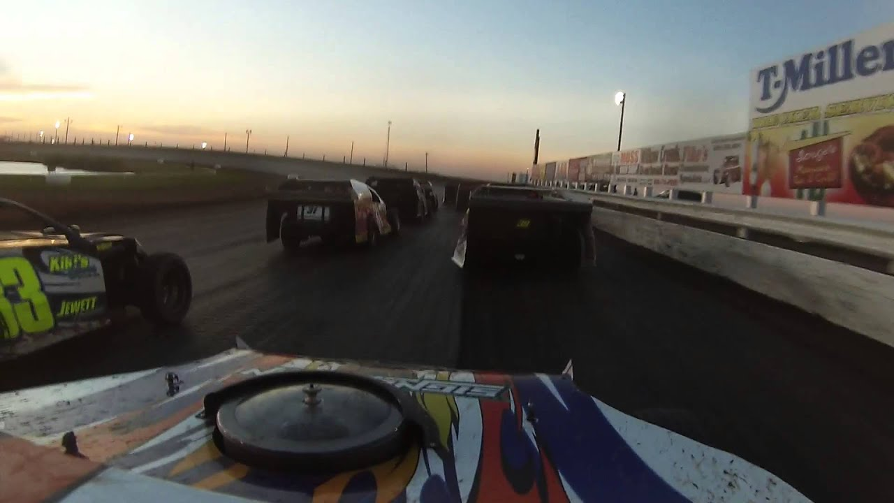 Route 66 Motor Speedway 6 20 15 Usmts B Main Youtube