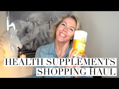 HEALTH SUPPLEMENT SHOPPING HAUL | The Red Fairy Project