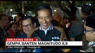 Gempa Banten, Jokowi Minta Warga Tenang dan Waspada