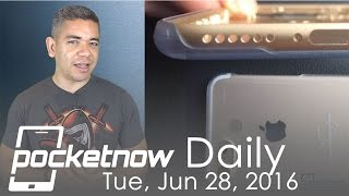 iPhone 7 metal chassis leaks, Google-made Android phone & more - Pocketnow Daily