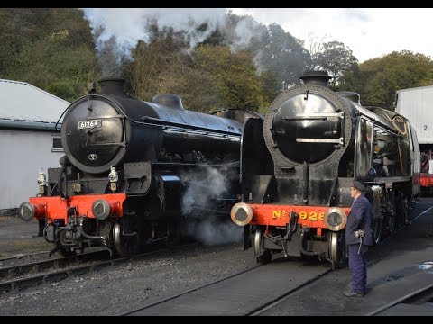 North Yorkshire Moors Railway Green Timetable Wednesday 18th October 2017