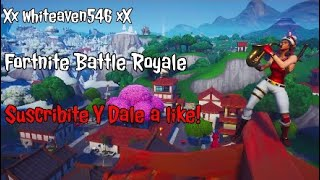 Fortnite Battle Royale [Carreo a friend without skin xd]
