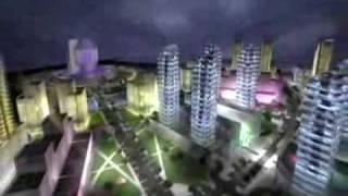 Minsk Belarus new building. The new European Dubai Resimi
