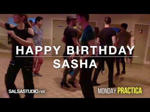 Salsa Practica Monday Vancouver.  Triple birthday dance.