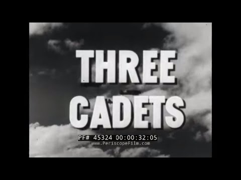 "WORLD WAR II U.S. ARMY VENEREAL DISEASE SCARE FILM  ""THREE CADETS"" 45324"