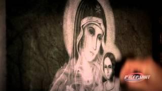 видео Реставрация портретов, надписей