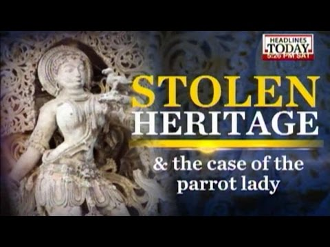 How does the illicit business of smuggling antique artifacts
