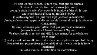 KALASH CRIMINEL - Shottas (Audio + Paroles)